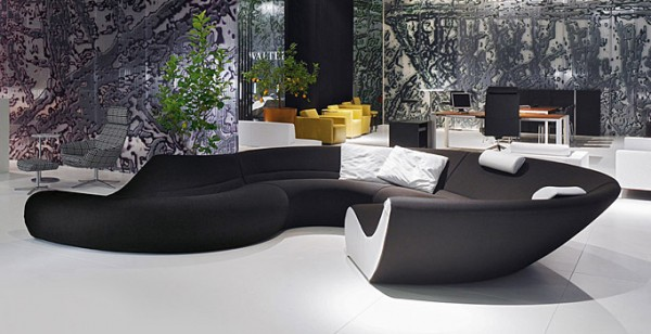 Modulares Sofa Design Circle Walter Knoll